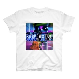 KEEP GOING T-shirts