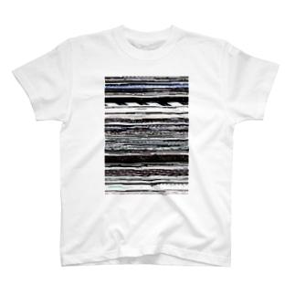 グリッチ T-shirts