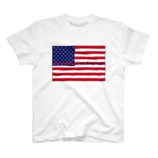 AMERICAN T-shirts