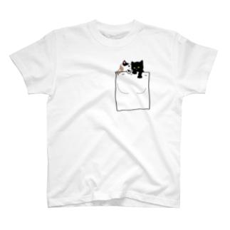 ポケねこ T-shirts