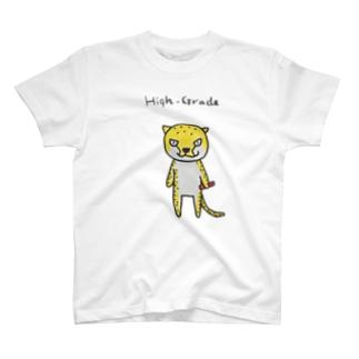 チーターくん(リレー) T-shirts