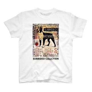 スブリデオのボストンテリア T-shirts