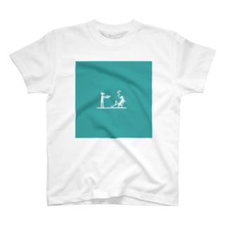 ヒットマンとターゲット T-shirts