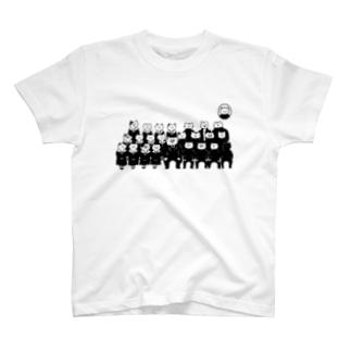 猫 入学式 T-shirts