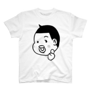 とーちんロゴ(親指グー) T-shirts