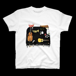 室井雑貨屋の音楽 T-shirts