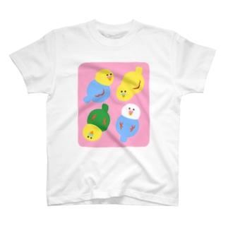 コロコロインコズ T-Shirt