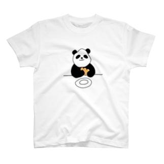 クリームパンダ T-shirts