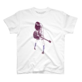 ギターガール013 T-shirts