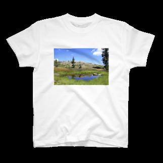 天使のやすらぎの第2ハートレイク T-shirts