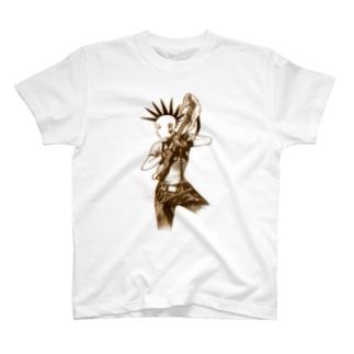 パンクギターガール001 T-Shirt