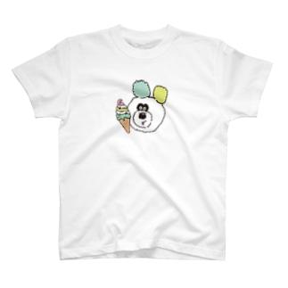 アイスとりのくまちゃん T-shirts