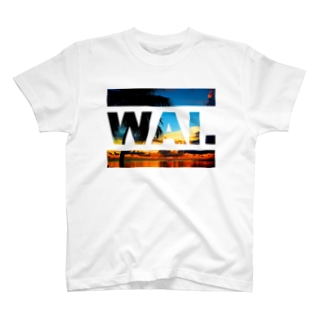 WAIT(ビーチ) T-shirts