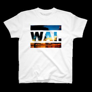 ワイのWAIT(ビーチ) Tシャツ