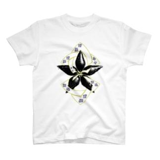 螺旋桔梗 T-Shirt