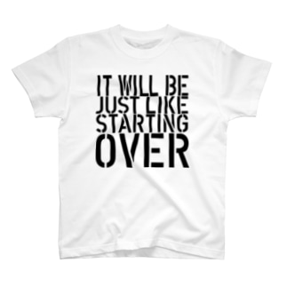 STARTING OVER 2 T-shirts