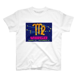 おとめ座 T-shirts