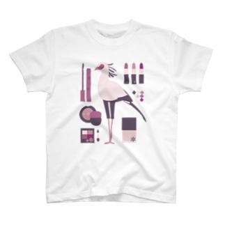 メイクアップ!ヘビクイワシ T-shirts