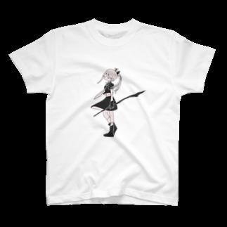 〇471の無気力少女3 T-shirts