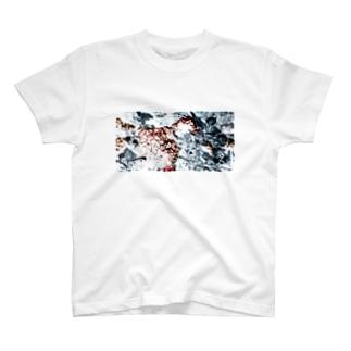 紫陽花グラフィックT T-shirts