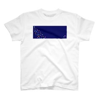 サンカクシカク コン T-shirts