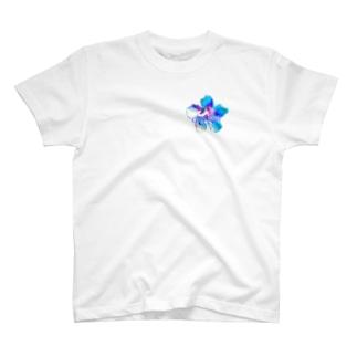 Flower-Sky② T-shirts