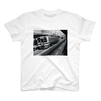 鉄道写真@岡山 T-Shirt