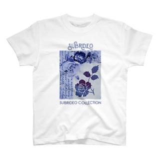 ブルーローズ T-shirts