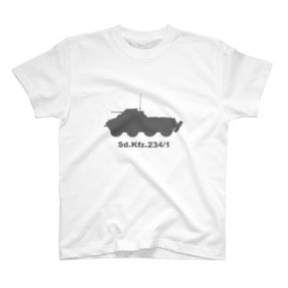 8輪装甲車 Sd.Kfz.234/1(グレー) T-Shirt