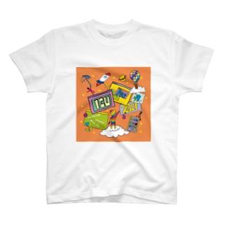 ICUFES2021[ミーティングを起動] T-shirts