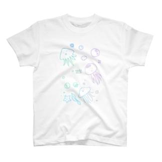 あちゃクラゲ-パステル T-Shirt