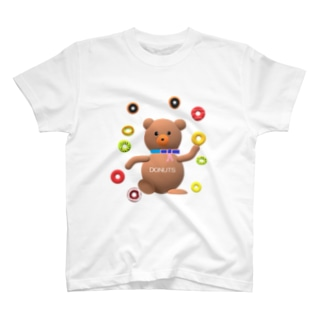あるてみらのクマちゃんとドーナツ🍩 T-shirts
