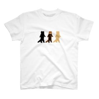 レッサーパンダ(みいモデル) T-shirts