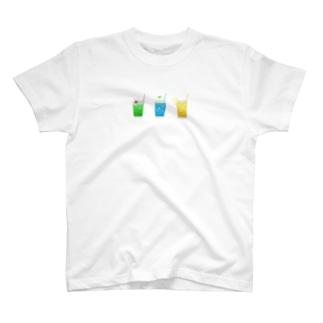 サマーソーダ T-shirts