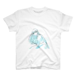 SUMMER・ガール T-Shirt