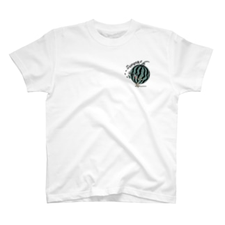 【 #Tシャツ 】スイカの種とばし T-Shirt