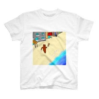 さすらいはクマ T-shirts