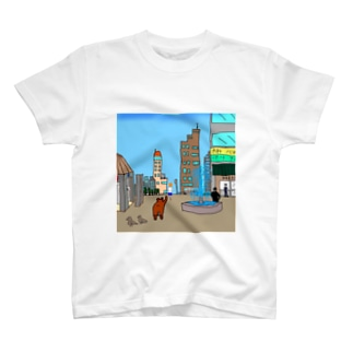 さすらいのクマ T-shirts