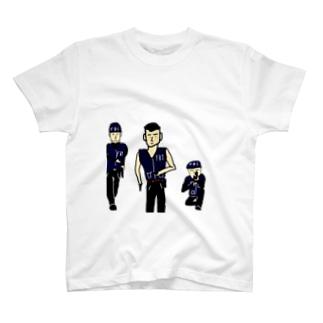 強いぜ!FBI T-shirts