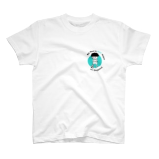 Yottblog オリジナルグッズ店のスーパー君 T-shirts