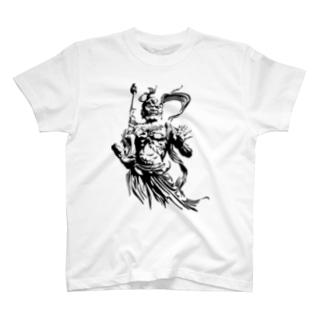 金剛力士 阿形 T-shirts