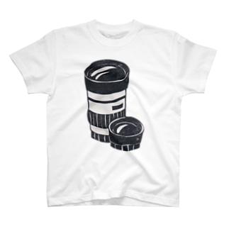 交換レンズ T-shirts