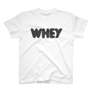 ホエイロゴ グレー T-shirts