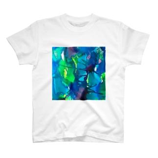 blue_psychic_darling Tシャツ