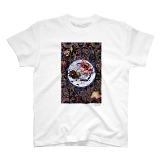円のコンポジション T-shirts