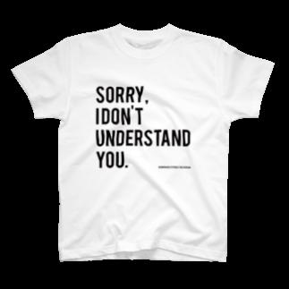 the ROUGHのちょっと何言ってるかわかんないです。 T-shirts