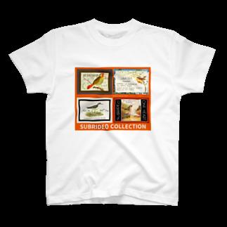スブリデオの鳥の囁き T-shirts