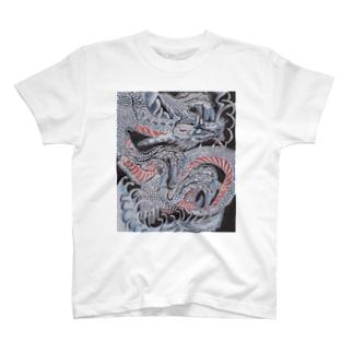 昇龍02_右向き T-shirts