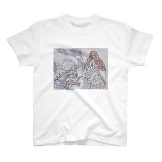 龍と祈祷師 T-shirts