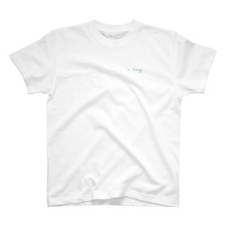 in living. GREEN LOGO TEE T-shirts